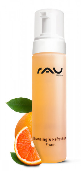 RAU Cleansing & Refreshing Foam 200 ml - Reinigungs-/Duschschaum mit dem Duft nach Orange