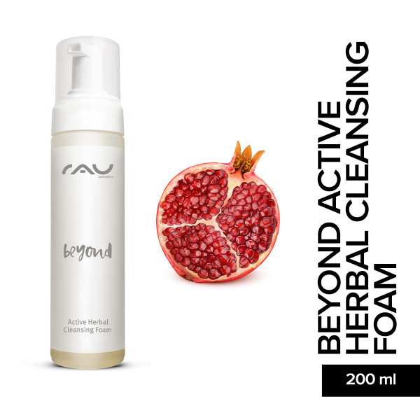 RAU Beyond Active Herbal Cleansing Foam 200 ml Haut Pflege Gesicht Pflege Skincare Onlineshop