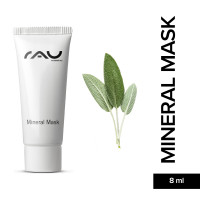 RAU Mineral Mask 8 ml - Mattifying Face Mask for Impure Skin