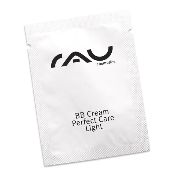 RAU BB Cream Perfect Care light 1,5 ml - Gesichtspflege und Make-up in einem