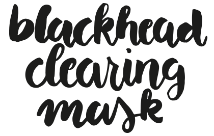 blackhead-clearing-mask