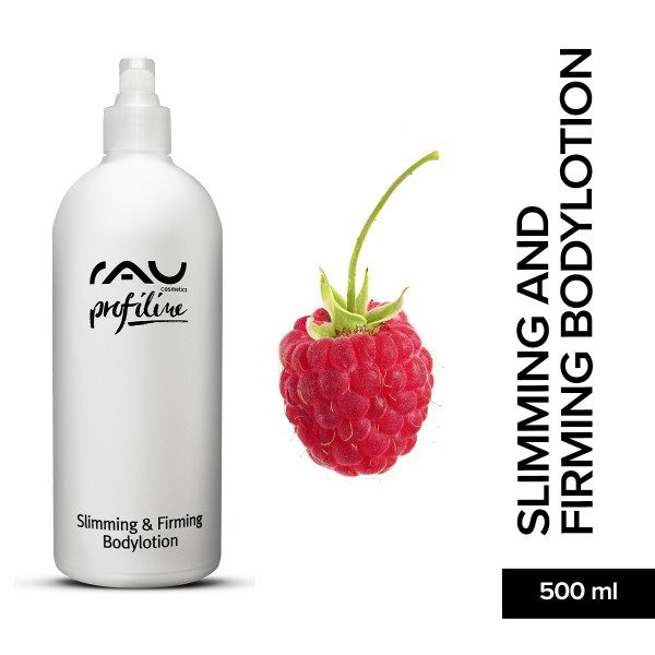 Rau Slimming And Firming Bodylotion 500 ml Profline Bodylotion Haut Pflege Skin Care Naturkosmetik