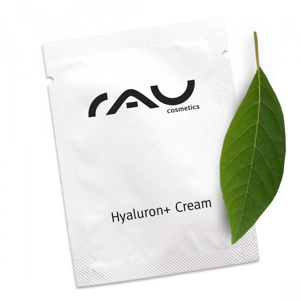 RAU Hyaluron + Cream LSF 6 - 1,5 ml mit UV-Filter