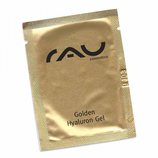RAU Golden Hyaluron Gel 1,5 ml - luxuriöses Anti-Aging-Gel mit 23kt Gold & Hyaluronsäure