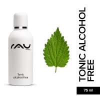 RAU Tonic alcohol-free 75 ml - Lotion Visage tonifiante avec Extraits d´Orties sans alcool