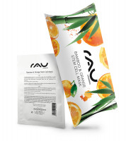 RAU Bamboo & Orange Stem Cell Mask - feuchtigkeitsspendende Vliesmaske - 10er Pack