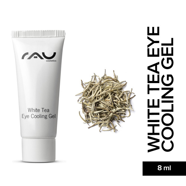Rau White Tea Eye Cooling Gel 8 ml Hautpflege Naturkosmetik Onlineshop