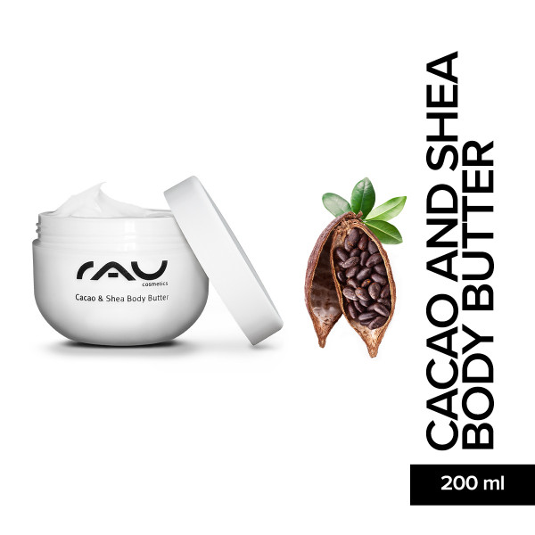 RAU Cacao and Shea Body Butter Haut Pflege Körper Pflege Skin Care Online Shop Kakao