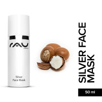 RAU Silver Face Mask 50 ml - Calming Face Mask against Impurities