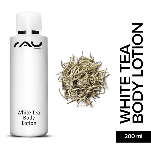 Rau White Tea Body Lotion 200 ml body lotion online shop Hautpflege Naturkosmetik