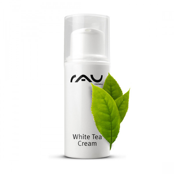 RAU White Tea Cream 5 ml - Zarte Anti Aging 24h Creme mit Weißem Tee & Aloe Vera