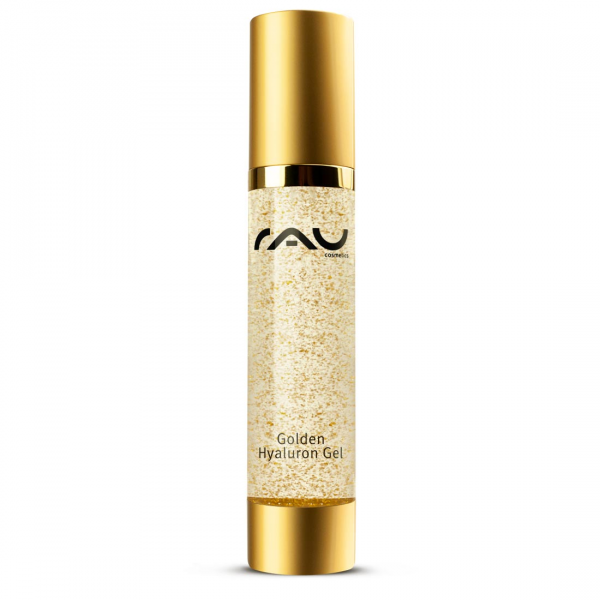 RAU Golden Hyaluron Gel 50 ml - luxuriöses Anti-Aging-Gel mit 23kt Gold & Hyaluronsäure