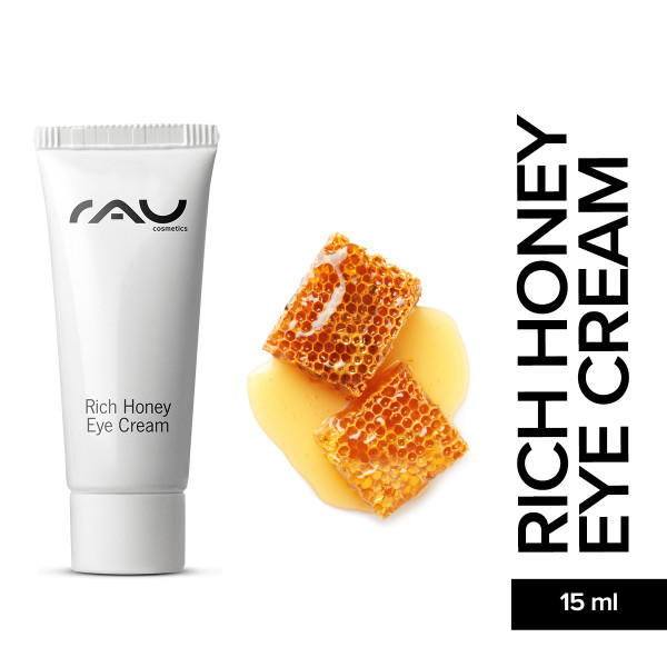 Rau Rich Honey Eye Cream 8 ml Augenpflege Hautpflege Naturkosmetik Onlineshop