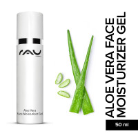 RAU Aloe Vera Face Moisturizer Gel 50 ml - Face & Body Gel with the All-Rounder Ectoin®