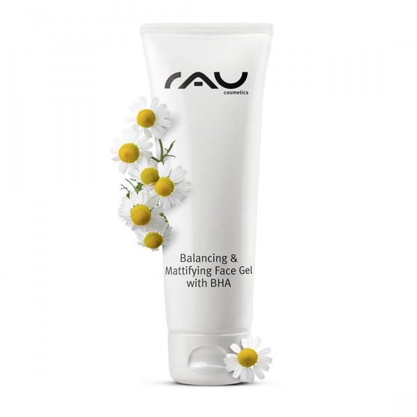 RAU Balancing & Mattifying Face Gel with BHA 75 ml - regulierendes, porenreinigendes Gesichtsgel