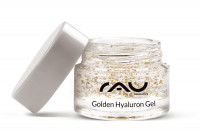 RAU Golden Hyaluron Gel 5 ml - luxuriöses Anti-Aging-Gel mit 23kt Gold & Hyaluronsäure