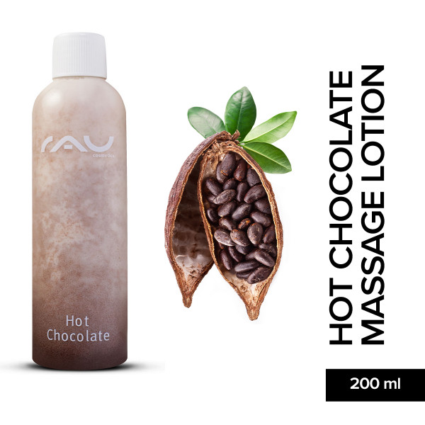 Rau Hot Chocolate Massage Lotion 200 ml Pflege Haut Skin Care Online Shop Natur Kosmetik