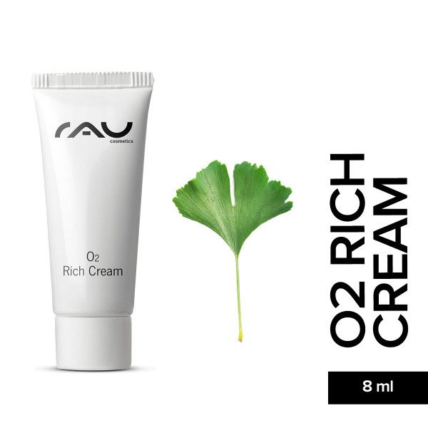 O2 Rich Cream 8 ml Skin Care Natur Kosmetik Gesicht Pflege Haut Online Shop