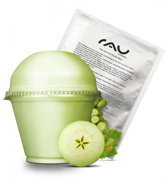 RAU Stem Cell Shaker Mask - Peel-Off-Maske der Luxusklasse