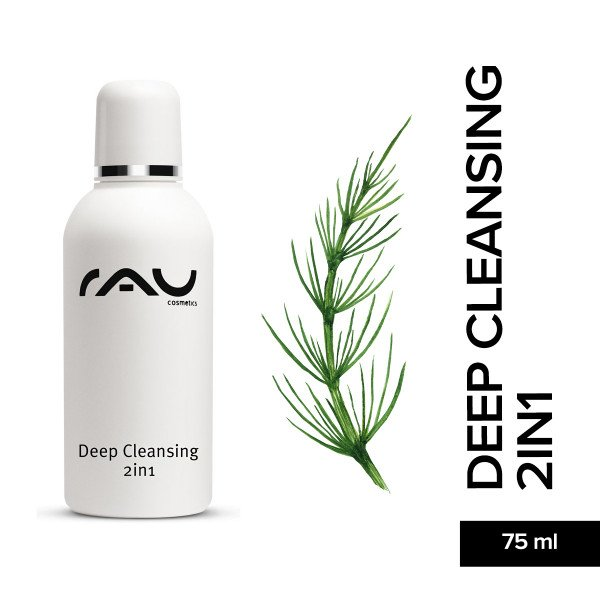 Rau Deep Cleansing 2in1 75 ml Hautpflege Naturkosmetik Onlineshop Skin Care